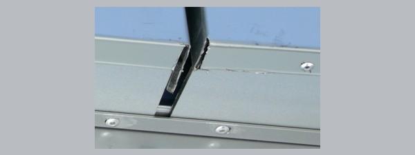 Несоблюдение технологии монтажа навесного фасада